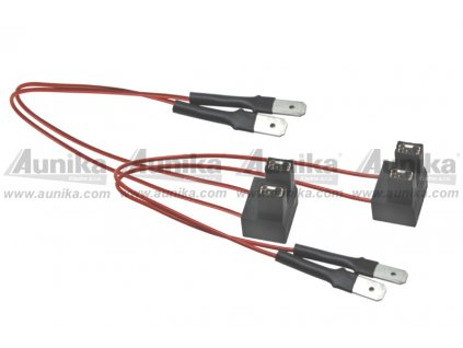 Patice pro žárovku H7 s odpor. vodiči - 446010