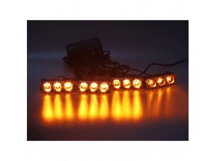 PREDATOR LED vnější bezdrátový, 12x LED 1W, 12V, oranžový - kf326W