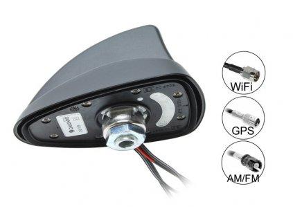 SHARK 2 TWIFI&SAT  AM/FM+WIFI+GPS anténa - 7727065