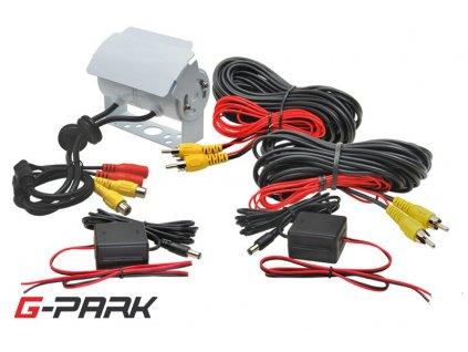 Univerzální dvojitá zadní parkovací kamera - 222223 W