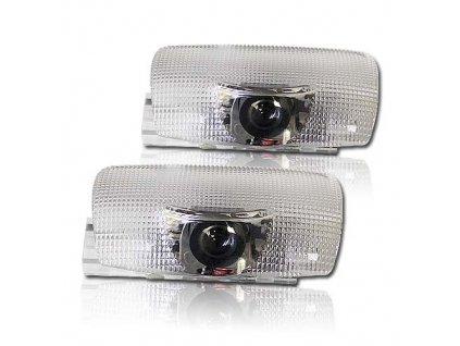 x LED logo projektor pro vozy Lexus integrován v osvětlení dveří - lo-omLX1
