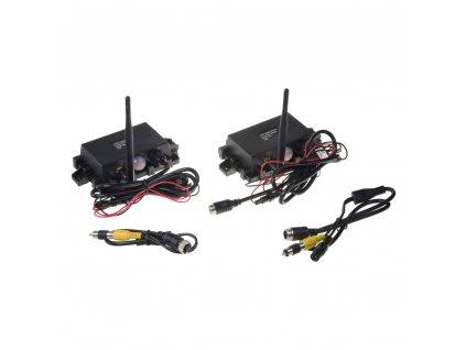 Sada přijímač/vysílač pro digitální bezdrátový VIDEO přenos 4xPIN konektory - svwdt1