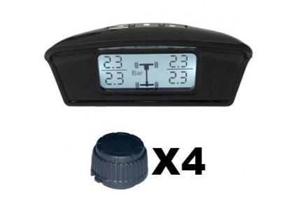 TPMS kontrola tlaku v pneumatice 4 externí čidla - tpms401