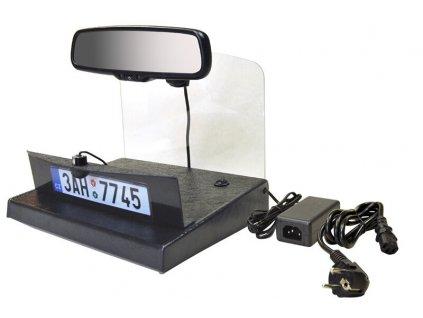 Demonstracni panel zrcatko + kamera