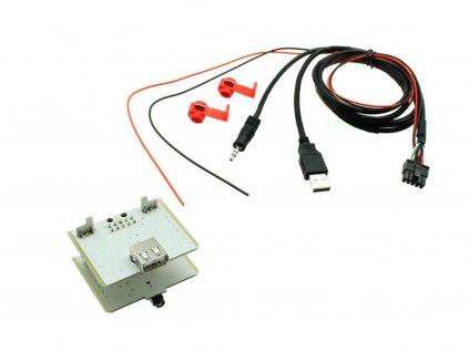 USB+JACK konektor Fiat 500L, Ducato, 500X - 551FA1