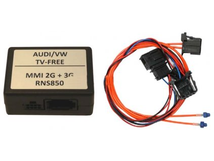 Odblokování obrazu pro Audi MMI/2G/3G/3G+,VW RNS850 - MOST - tvf-mmi