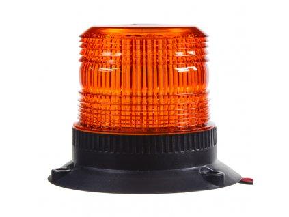 x Zábleskový maják, 12-24V, oranžový, - wl19fix