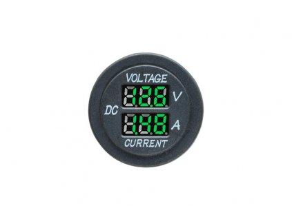 Digitální voltmetr a ampérmetr - 385131 G