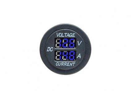 Digitální voltmetr a ampérmetr - 385131 B