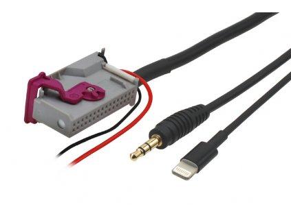 AUX a Apple Lightning adapter Audi