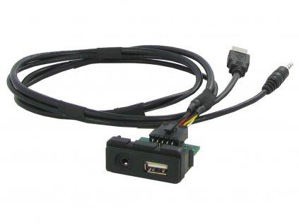 USB+JACK konektor Mazda - 551MZ1