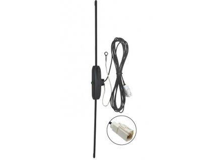 AM / FM vnitrni antena na sklo