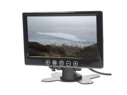 """LCD monitor 7"""" černý na palubní desku - ic-716t"""