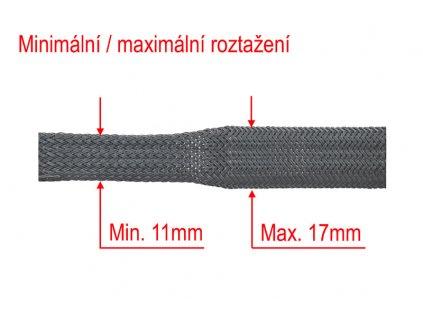 Ochranný oplet 12mm - role - 437250 100