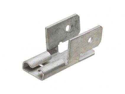 Konektor dutinka 6,3mm s 3x odbockou