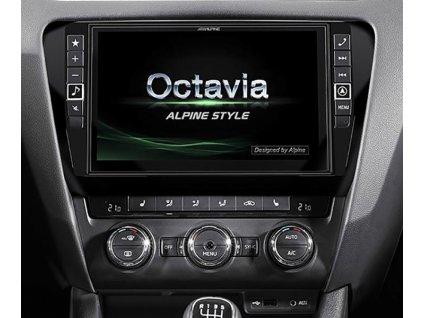 Navigační systém pro Škoda Octavia 3  2 DIN X901D-OC3