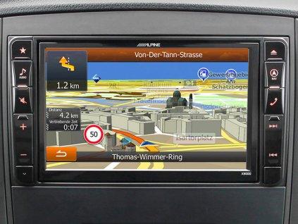 Navigační systém pro Mercedes Vito (447)  2 DIN X800D-V447
