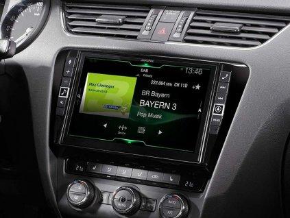 Pokročilá Navigační stanice pro vůz Škoda Octavia   X903D-OC3