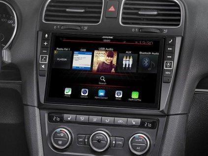 Pokročilá Navigační stanice pro vůz Volkswagen Golf 6   X903D-G6
