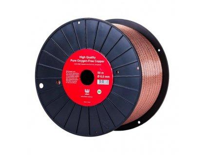 Reproduktorové kabely 2x 6 mm (50 m)   CE45 SPK6.0
