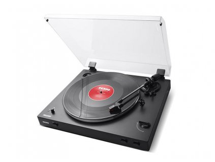 Belt-Drive Wireless Streaming Turntable   PRO200BT BLACK