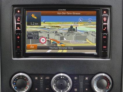 Navigační systém pro Mercedes Sprinter (906) 2013-2017  2 DIN X800D-S