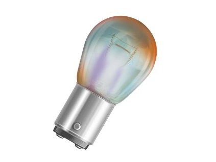 x OSRAM 12V PR21/5W (BAW15d) 12V diadem (1ks) oranžová - OS7538LDR-01B