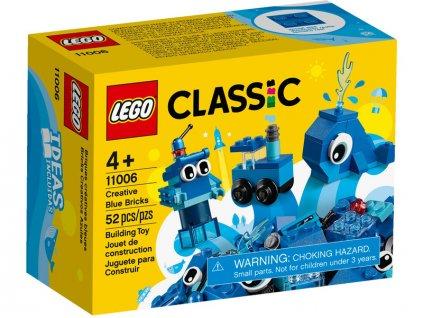 LEGO Classic - Modré kreativní kostičky - LEGO11006