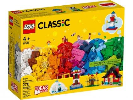 LEGO Classic - Kostky a domky - LEGO11008