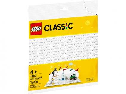 LEGO Classic - Bílá podložka na stavění - LEGO11010
