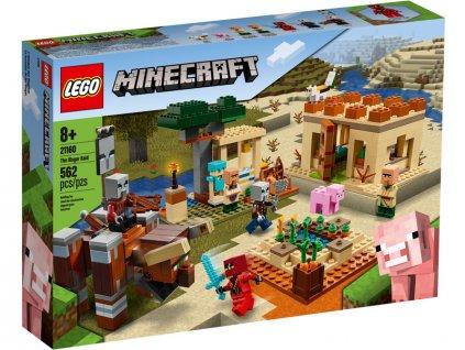 LEGO Minecraft - Útok Illagerů - LEGO21160