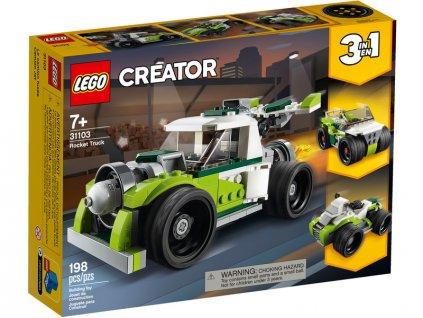 LEGO Creator - Auto s raketovým pohonem - LEGO31103