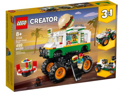 LEGO Creator - Hamburgerový monster truck - LEGO31104