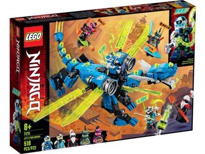 LEGO Ninjago - Jayův kyberdrak - LEGO71711