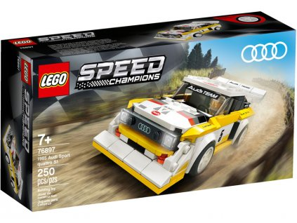 LEGO Speed Champions - 1985 Audi Sport quattro S1 - LEGO76897
