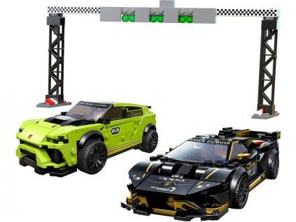 LEGO Speed Champions - Lamborghini Urus ST-X & Lamborghini Huracán Super Trofeo EVO - LEGO76899