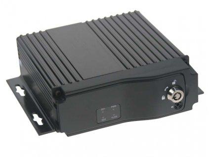 Černá skříňka pro záznam obrazu ze 4 kamer, 2x slot SD - dvr4c