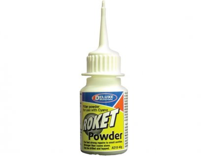 Roket Powder plnidlo vteřinových lepidel 40g - DM-AD18