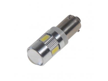 LED BAX9s bílá, 12-24V, 6LED/5730SMD - 95403