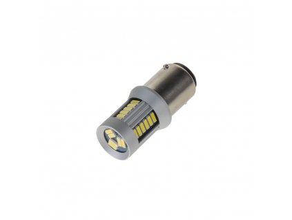 LED BA15d (jednovlákno) bílá, 12-24V, 30LED/4014SMD - 95283