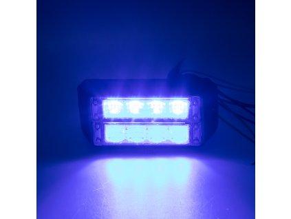 PROFI DUAL výstražné LED světlo vnější, 12-24V, modré, ECE R65 - 911-C4Dblu