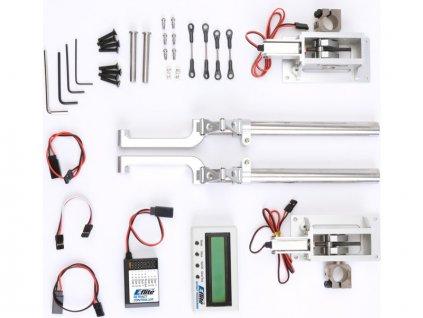 E-flite zatahovací podvozek elektro 60ccm 90° 2-bodový - EFLG700
