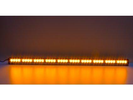 LED světelná alej, 40x LED 3W, oranžová 1210mm, ECE R65 - kf756-10