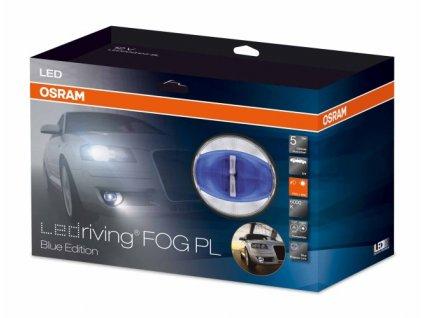 x OSRAM LED mlhová světla/denní svícení, kulatá světla 90mm, ECE - osLEDfog103