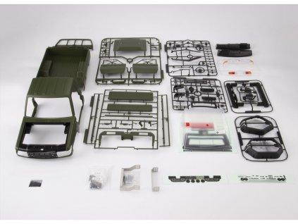 Killerbody karosérie 1:10 Toyota Land Cruiser 70 zelená (Traxxas TRX-4) - KB48733