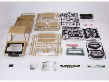 Killerbody karosérie 1:10 Toyota Land Cruiser 70 písková (Traxxas TRX-4) - KB48734