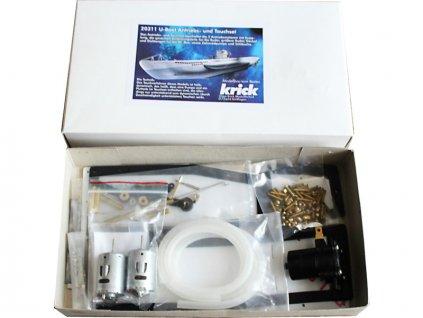 Krick Ponorka U-Boot Typ VII - sada ponor + pohon - KR-20311