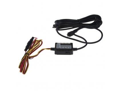 Kabeláž pro pevnou montáž DVRB s microUSB - dvrb24s, dvrb24s4K a pod. - dvrbkab