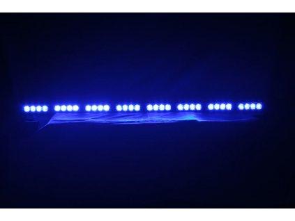 LED alej voděodolná (IP66) 12-24V, 32x LED 1W, modrá 955mm - kf758-8blu