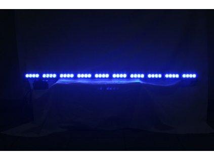 LED alej voděodolná (IP66) 12-24V, 40x LED 1W, modrá 1200mm - kf758-10blu